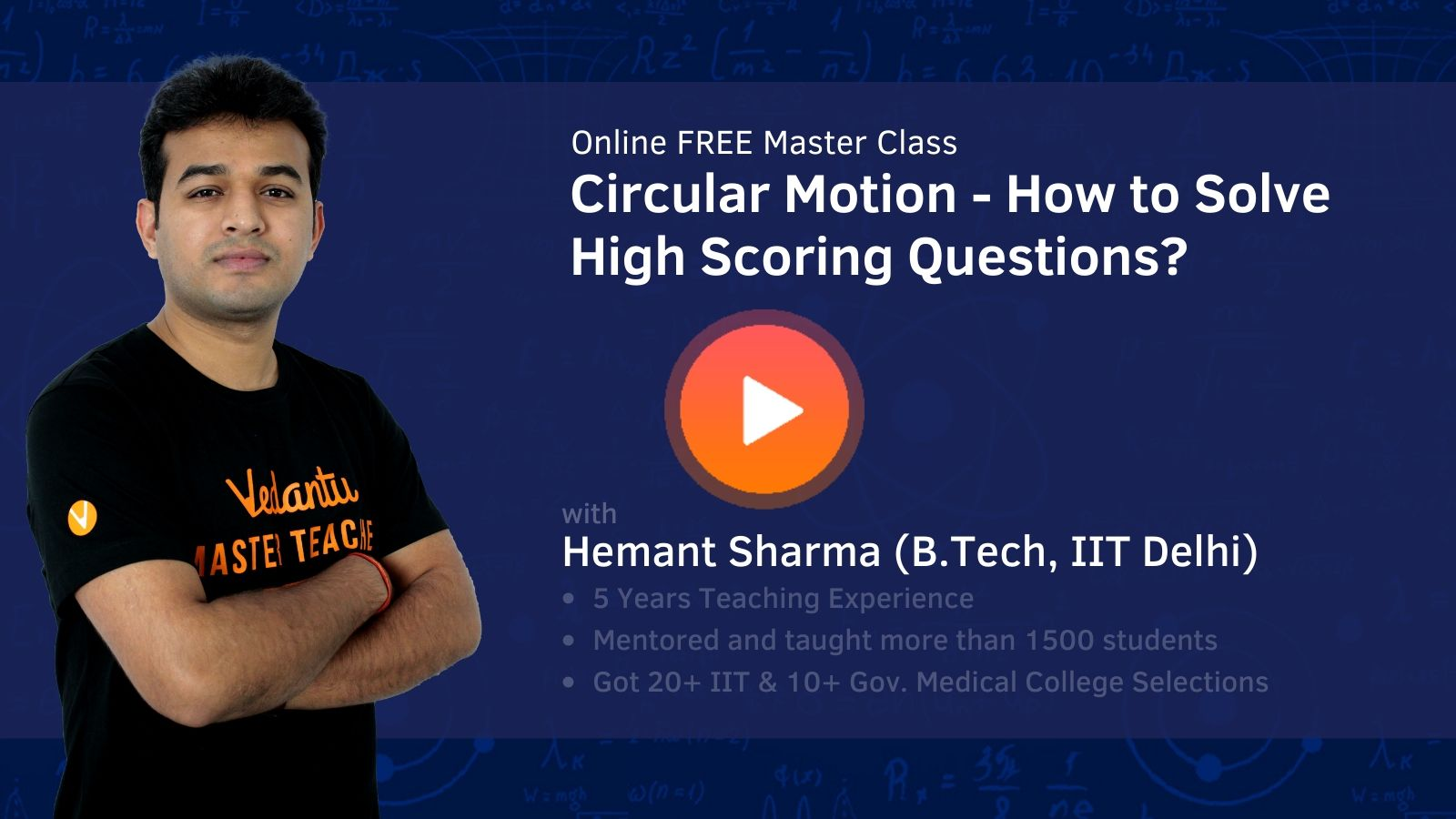 Circular Motion - How to Solve High Scoring Questions?