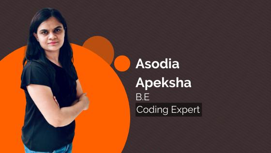 Asodia Apeksha Ajaykumar